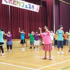 支援学校の夏祭りに参加!