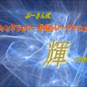ぷーさん式トレンドフォロー手法トレードマニュアル輝検証