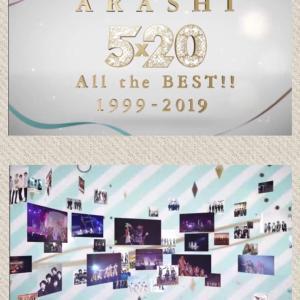 ARASHI 5×20 All the BEST!! 1999-2019