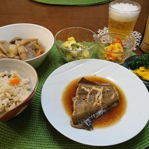 晩御飯~カレイの煮付け~
