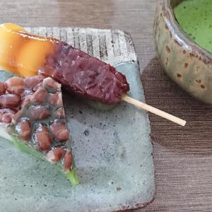 大好きなお菓子~水無月&プレスバターサンド~