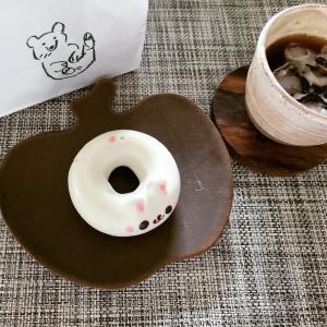 可愛いドーナツ~古谷製陶所のりんごのお皿~