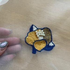 リュネビル刺繍3つ目の課題