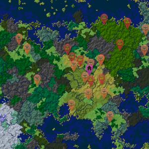 【Minecraft】神シードでサバイバル編part1 拠点は地上で増築型の豆腐建築でサバイバル開始!