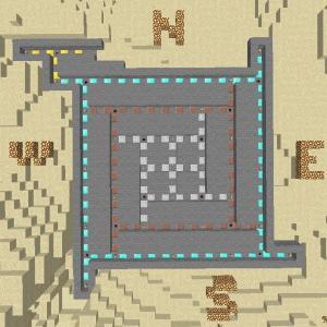 【Minecraft】神シードでサバイバル編part3 夜も安心でモレも防げる安全な村に湧き潰し!