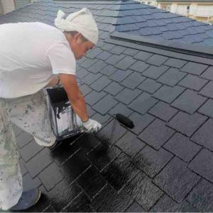 外壁と屋根の塗装は完了しました。