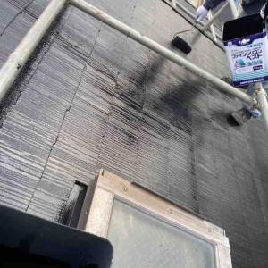 屋根の塗装が終わりました