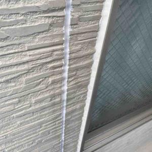 屋根の塗装は完了、外壁スタート