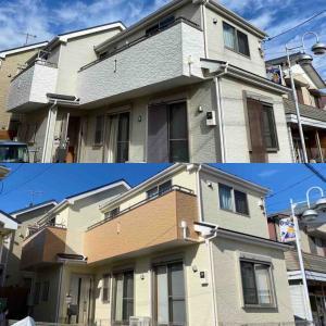 平塚市O様邸 塗装工事が完了致しました