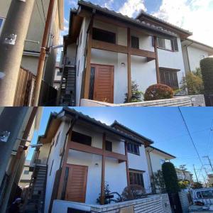 藤沢市 住宅塗装が完工致しました。