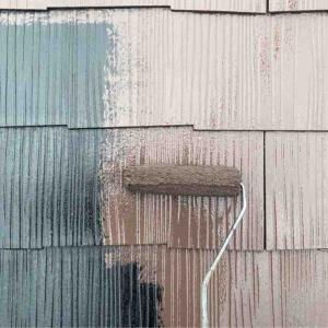 屋根の塗装と窓の清掃