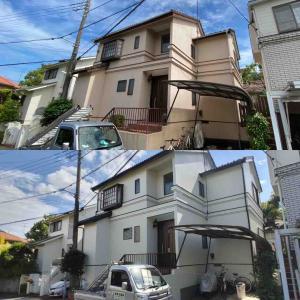 平塚市A様邸 塗装工事