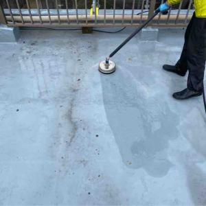 屋上防水と外壁の塗装