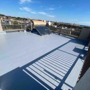 屋上防水が終わりました