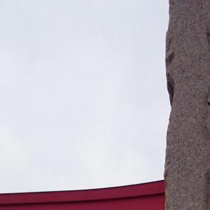 社のある道 東松山「箭弓稲荷神社」