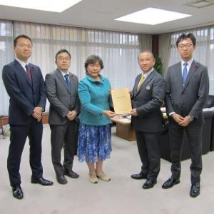 「2020年度予算要望書」を本村賢太郎市長に提出しました!