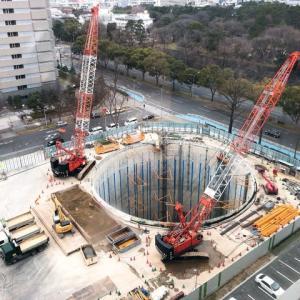 名古屋市の「中央新幹線名城非常口」工事現場の調査へ
