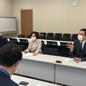 畑野君枝衆議院議員とともに、新型コロナ臨時交付金について、総務省と内閣府から聞き取り&要請