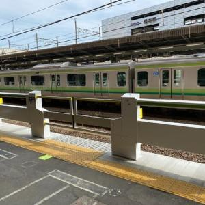 JR横浜線・橋本駅でホームドアの使用が開始されました!