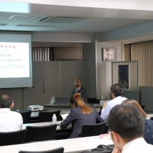 東京商工会議所千代田支部での「外国人材活用講演会」