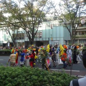 表参道ハロウィン・パレードに遭遇?