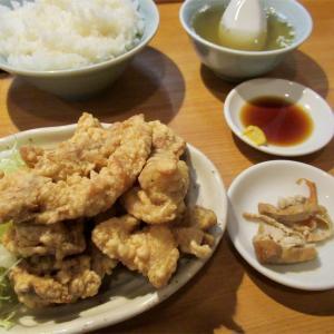 「中華料理 珉来」 豚唐揚げ定食
