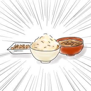 ランニングと玄米と納豆とみそ汁と
