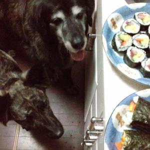 一年に一度巻き寿司を食べる日だ!
