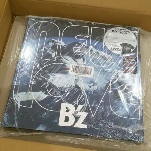 B'z ニューアルバム NEW LOVE 届きました