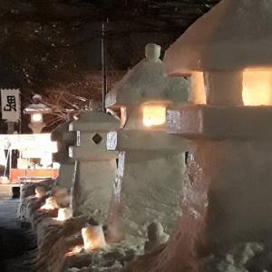 第42回上杉雪灯篭まつり ~ 1: 松が岬公園の灯り ~