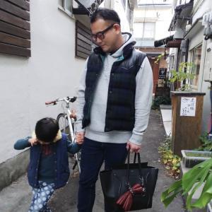子供とお散歩。何を着る?!