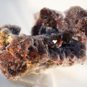 中国の石 閃亜鉛鉱 菱マンガン鉱