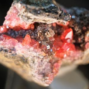 ペルーの石 菱マンガン鉱