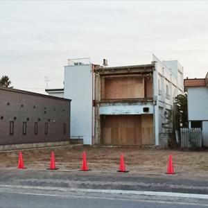 野幌8丁目通り商店街パチンコ店ビルがついに撤去される[江別市野幌町]