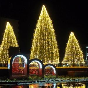 野幌駅前イルミネーション2019開始!南口も点灯!開催期間・点灯時間