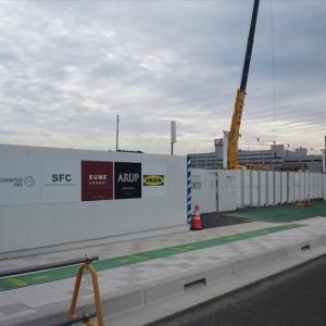 IKEA長久手(IKEA名古屋)の建設現場
