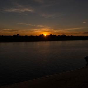 パラグアイ川の夕陽 6