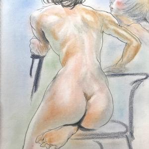 ヌードから着衣へ、そしてダンサーを描く