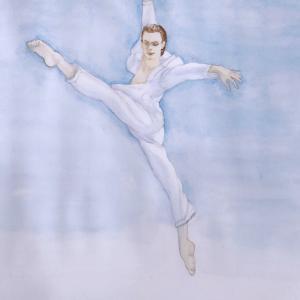 『ボヤージュ』マラーホフを描いてみた 第3弾