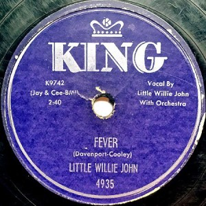 11/15 Little Willie John ~ Fever