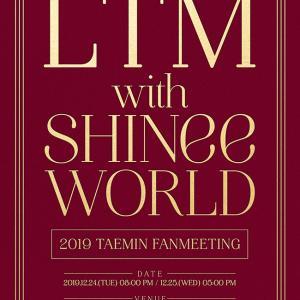 LTM with SHINee WORLD開催!