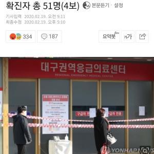 韓国でもコロナ患者が爆発的に増加