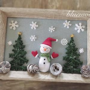 クリスマスフレーム♪