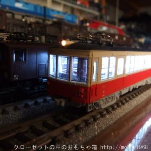 KATO 高松琴平電鉄30系タイプ 入線整備 自作室内灯、スナバ回路取付