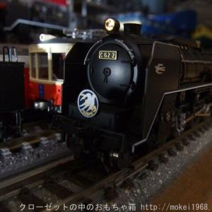 KATO C62 2 ヘッドライトの常点灯化