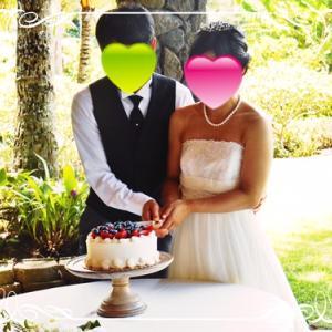 ●40代カップルさん海外挙式のご報告❤~海外駐在員の婚活結婚相談所がお届け♪
