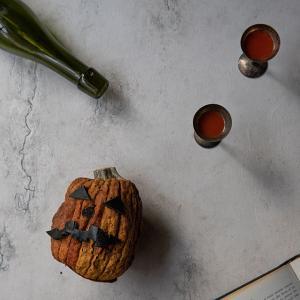 ワレワレ撮影ボード作りとドライになったハロウィンのかぼちゃ(笑)