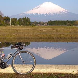逆さ富士(体力づくりライド、水張り田んぼ、足柄峠、水ヶ塚)