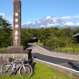 富士五湖ライド(夏休み2回目、鹿カレー、避暑地じゃないよ~)