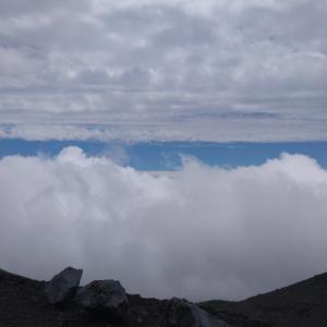 富士山宝永火口(令和3年2回目富士山スカイライン、富士宮口五合目、ハイキングも)